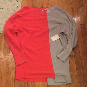 NWT Free People Coloring In Pullover
